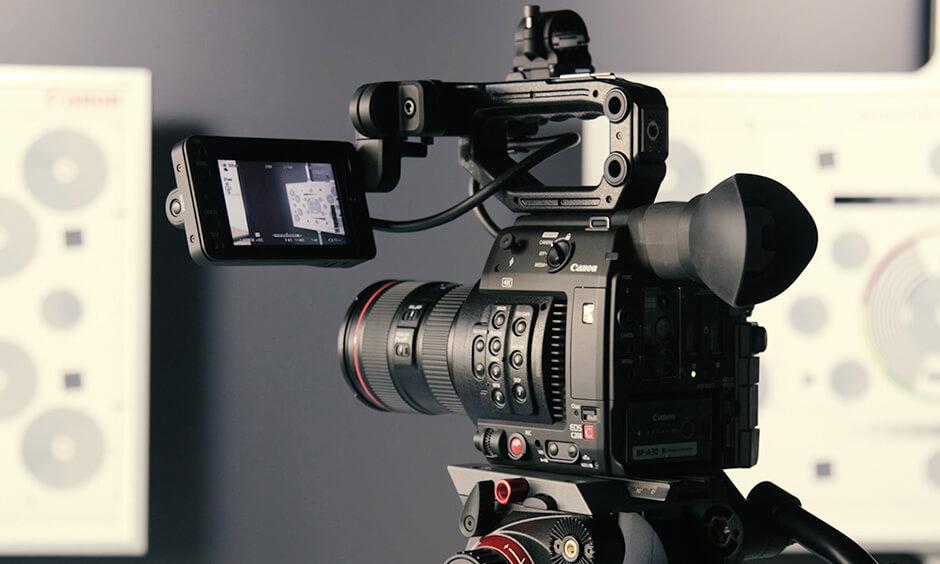 Fotografia ou vídeo de eventos